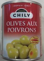Olives aux poivrons - Produit - fr