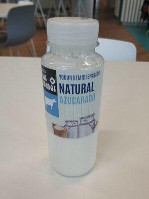 Yogur semidesnatado natural