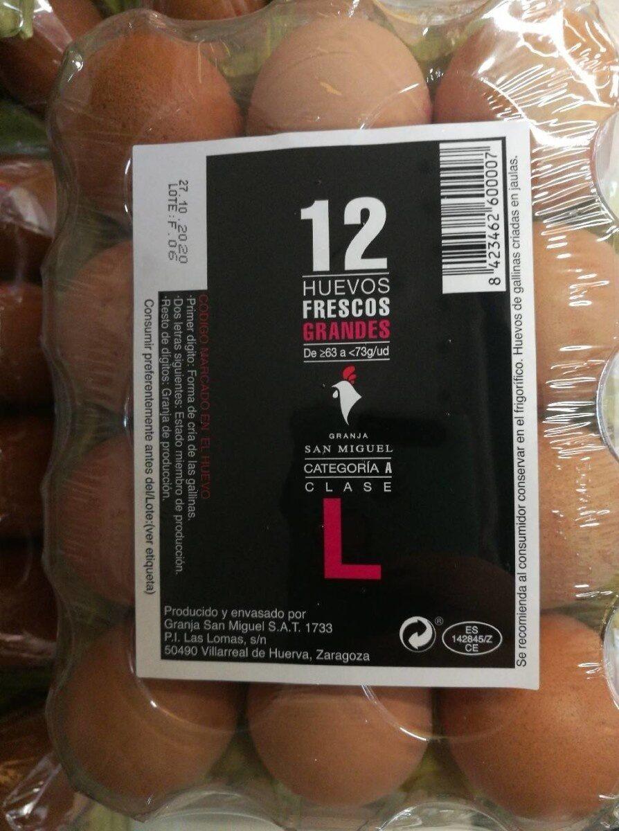 Huevos talla L - Product - es