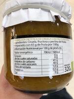 Mermelada dietetica ciruela - Ingredientes