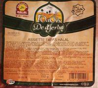 Assiette tapas halal - Produit - fr