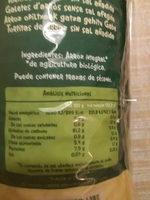 Tortitas arroz integral sin sal - Ingredientes