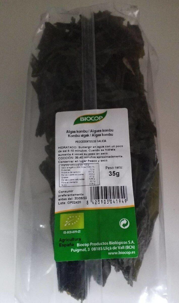 Alga Kombu - Producte - es