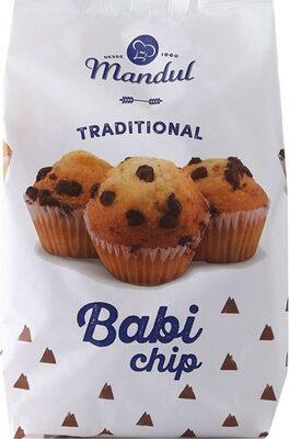 Muffin babi traditional chip gocce di cioccolato - Produit - fr