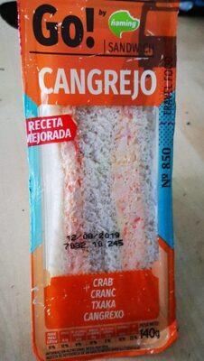 Sandwich cangrejo - Product - es
