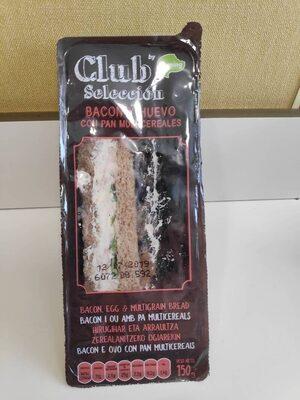 Sandwich de bacon y huevo - Producto