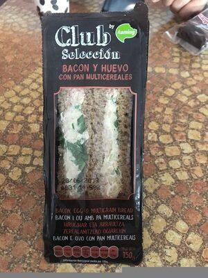 Sandwich de bacon y huevo - Información nutricional