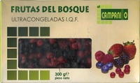 Frutas del bosque ultracongeladas - Product