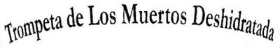 """Setas trompeta de los muertos deshidratadas """"El Campanillo"""" - Ingredientes"""