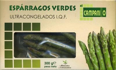 Espárragos verdes El Campanillo - Producte