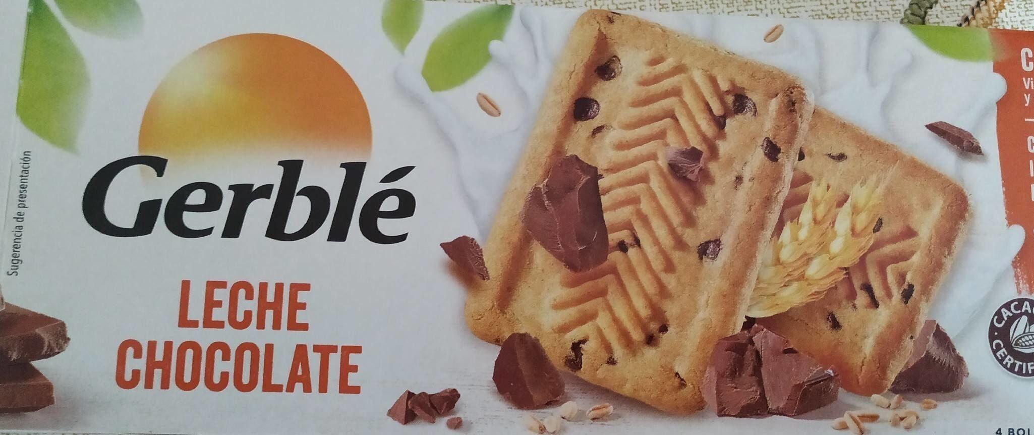 Galletas de leche y chocolate - Producto - es