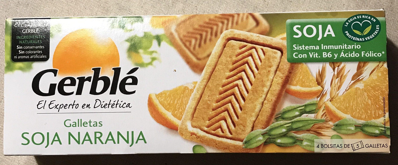 Galletas de soja y naranja - Producto