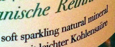 Sparkling water - Ingredients - en