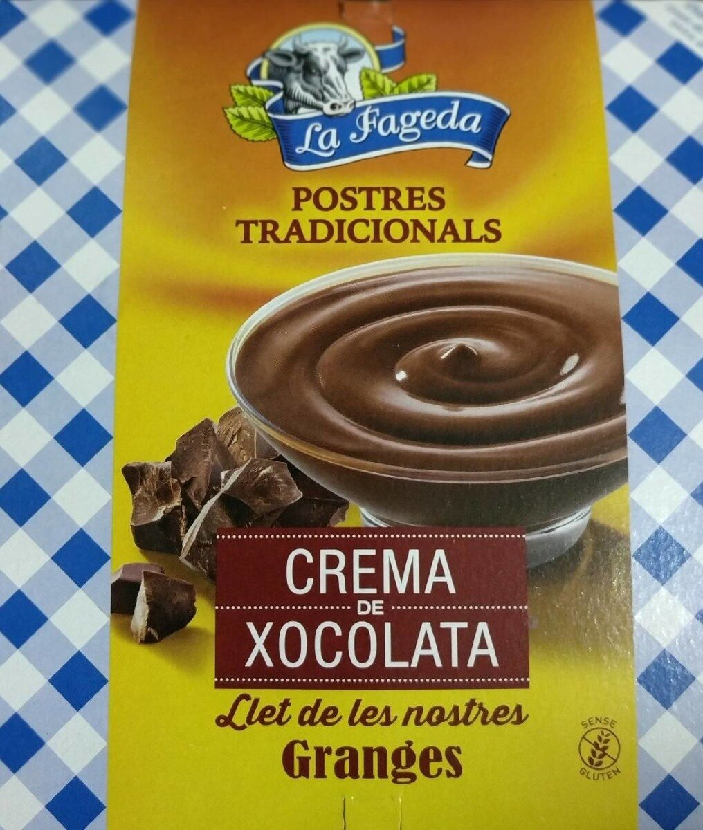 Crema de chocolate - Product