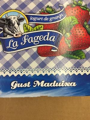 Iogurt La Fageda Sabor Maduixa - Product