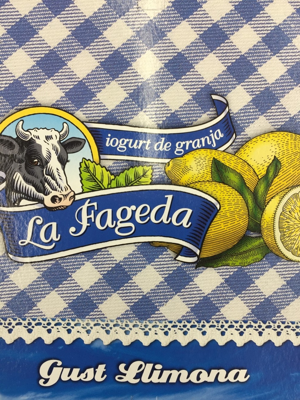 Iogurt La Fageda Sabor Llimona - Product