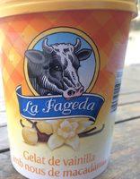 Gelat de vainilla amb nous de macadamia - Producto