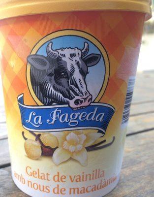 Gelat de vainilla amb nous de macadamia - Produit - fr