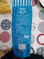Barra sin sal - Producte