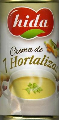 Crema de 7 hortalizas - Producto
