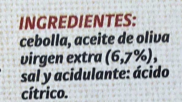 Cebolla frita - Ingredients - es