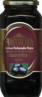 """Aceitunas negras deshuesadas """"Fontoliva"""" Variedad Cacereña - Product - es"""
