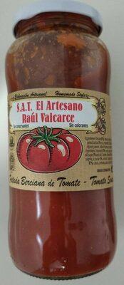 S.A.T El artesano Raúl Valcarce, tomate frito - Producto