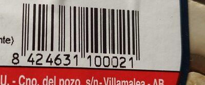 CHAMPIÑONES LAMINADOS - Informació nutricional