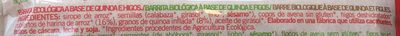 Siken Quinoa e Figos - Ingrédients