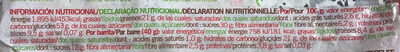 Siken Quinoa e Figos - Informations nutritionnelles