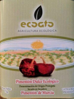 Pimentón dulce ecológico