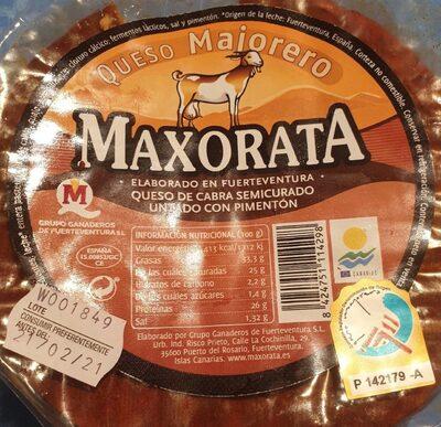 Queso de cabra semicurado untado con pimentón - Producto - es