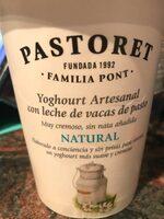 Yogur artesanal natural - Producto - es