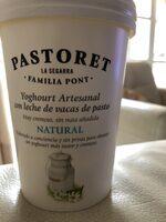 Yogur natural artesanal - Producto - es