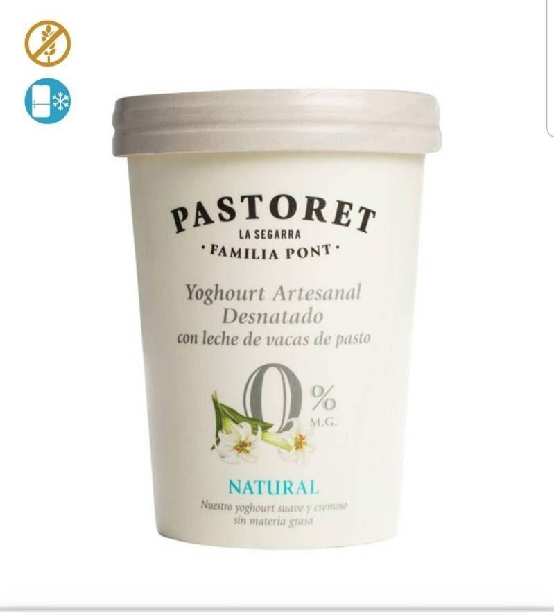 Yogur artesanal natural desnatado - Producto - fr