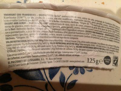 Yogur artesanal frambuesas - 3