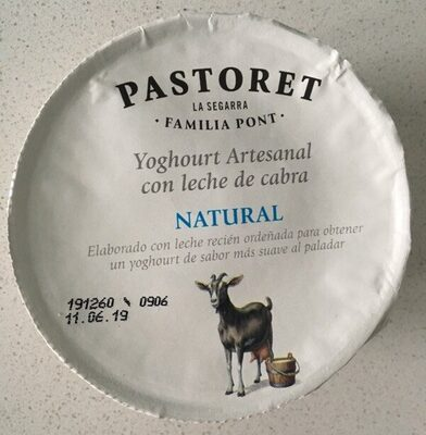 Yogurt natural con leche de cabra - Producto