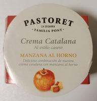 Crema Catalana al estilo casero con Manzana al Horno - Producte