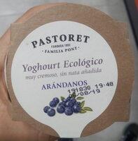 Yaourt biologique myrtilles - Producto - es