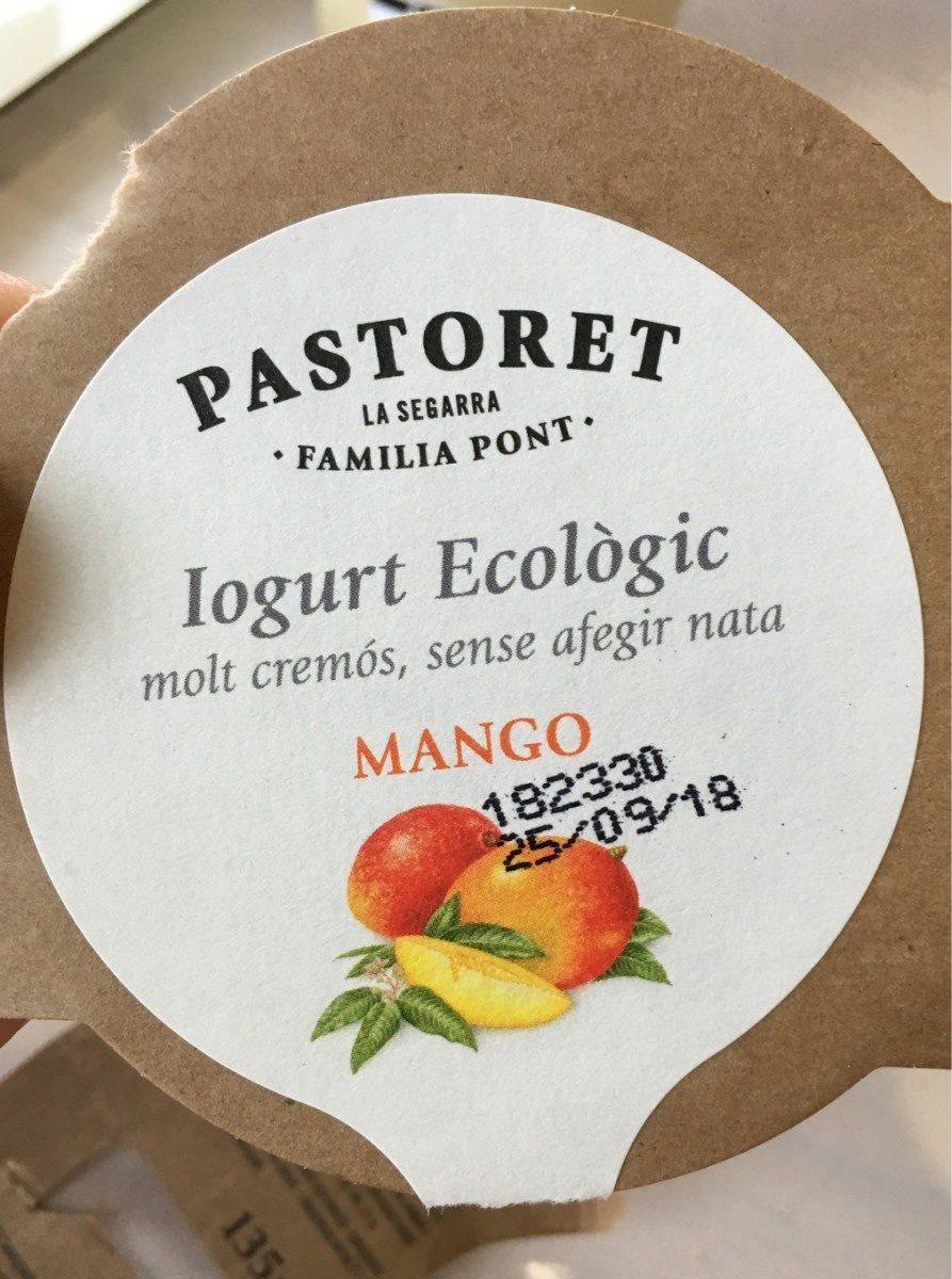 Yogur Ecológico Mango - Produit