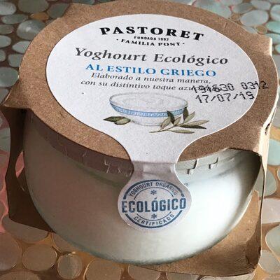 Yoghourt ecológico al estilo griego - Producto