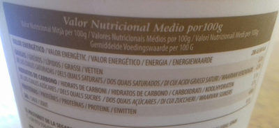 Yoghourt Traditional Ecológico - Informations nutritionnelles