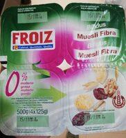 Bifidus muesli fibra - Producto - es