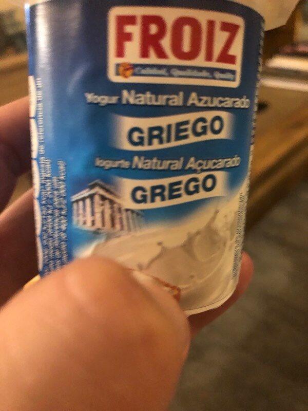 Yogur griego natural azucarado - Produit