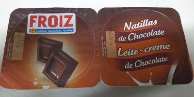 Natillas de chocolate froiz