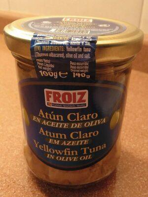 Atún claro en aceite de oliva