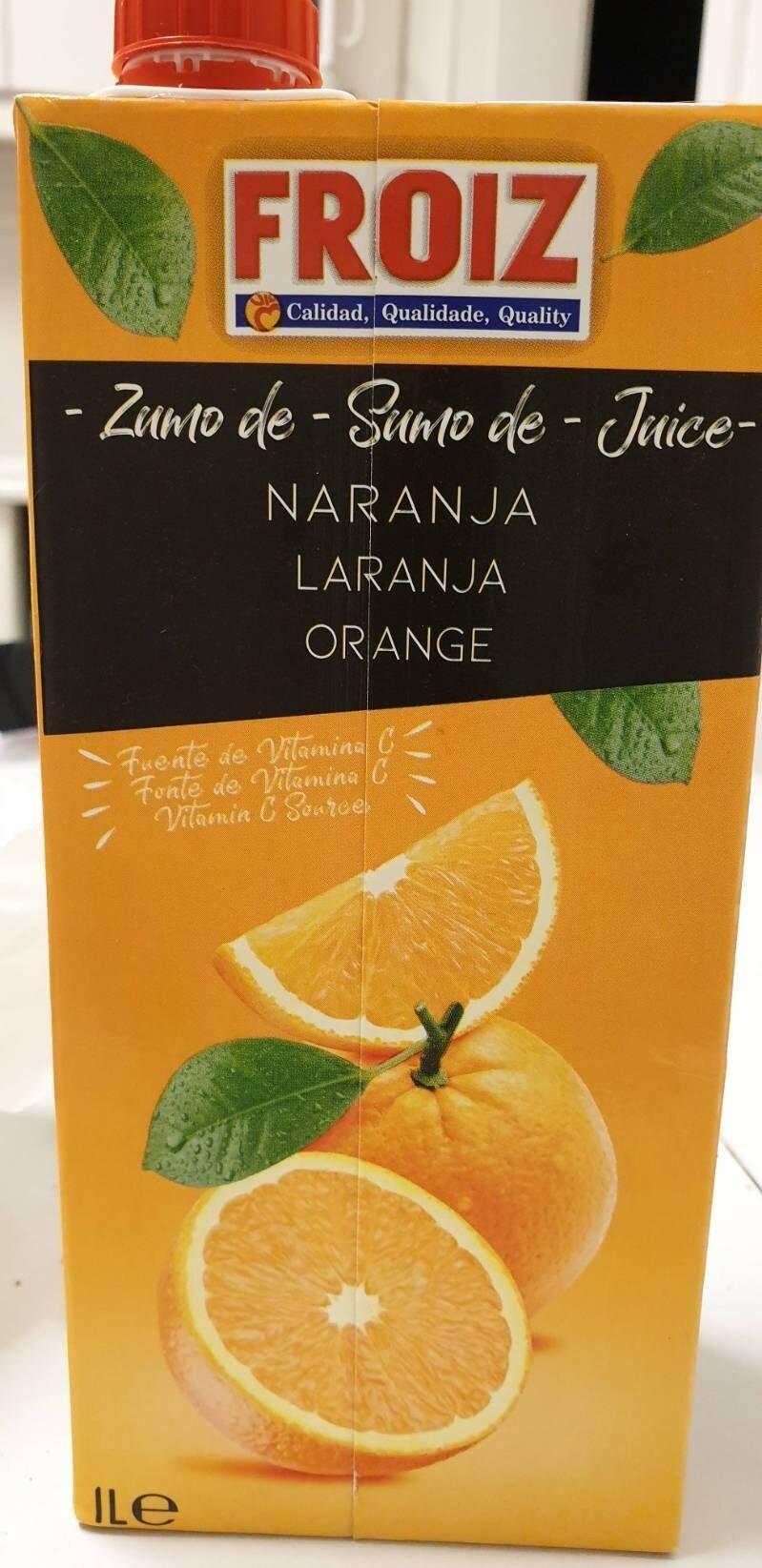 Zumo de Naranja - Product - es