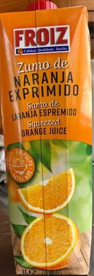 Zumo naranja Froiz - Produit