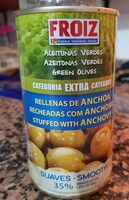 Aceitunas verdes suaves - Product - es