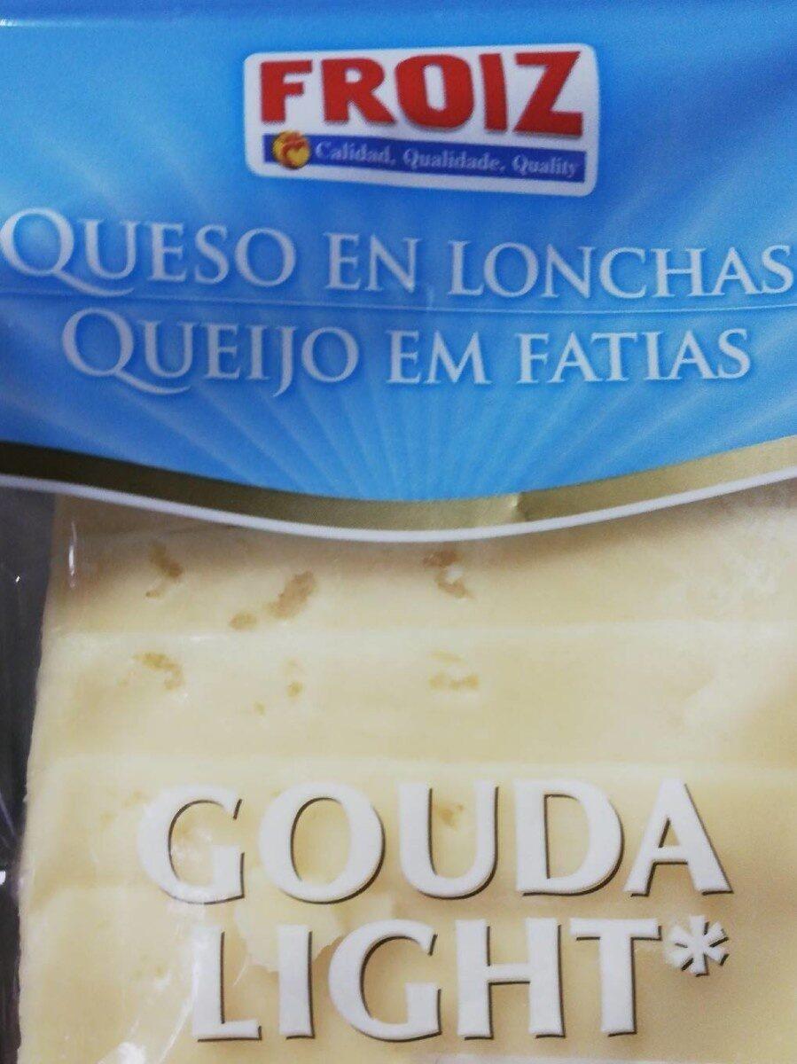 Queso en lonchas gouda light - Producte